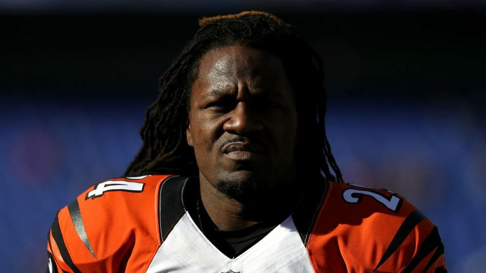 Adam 'Pacman' Jones of the Cincinnati Bengals
