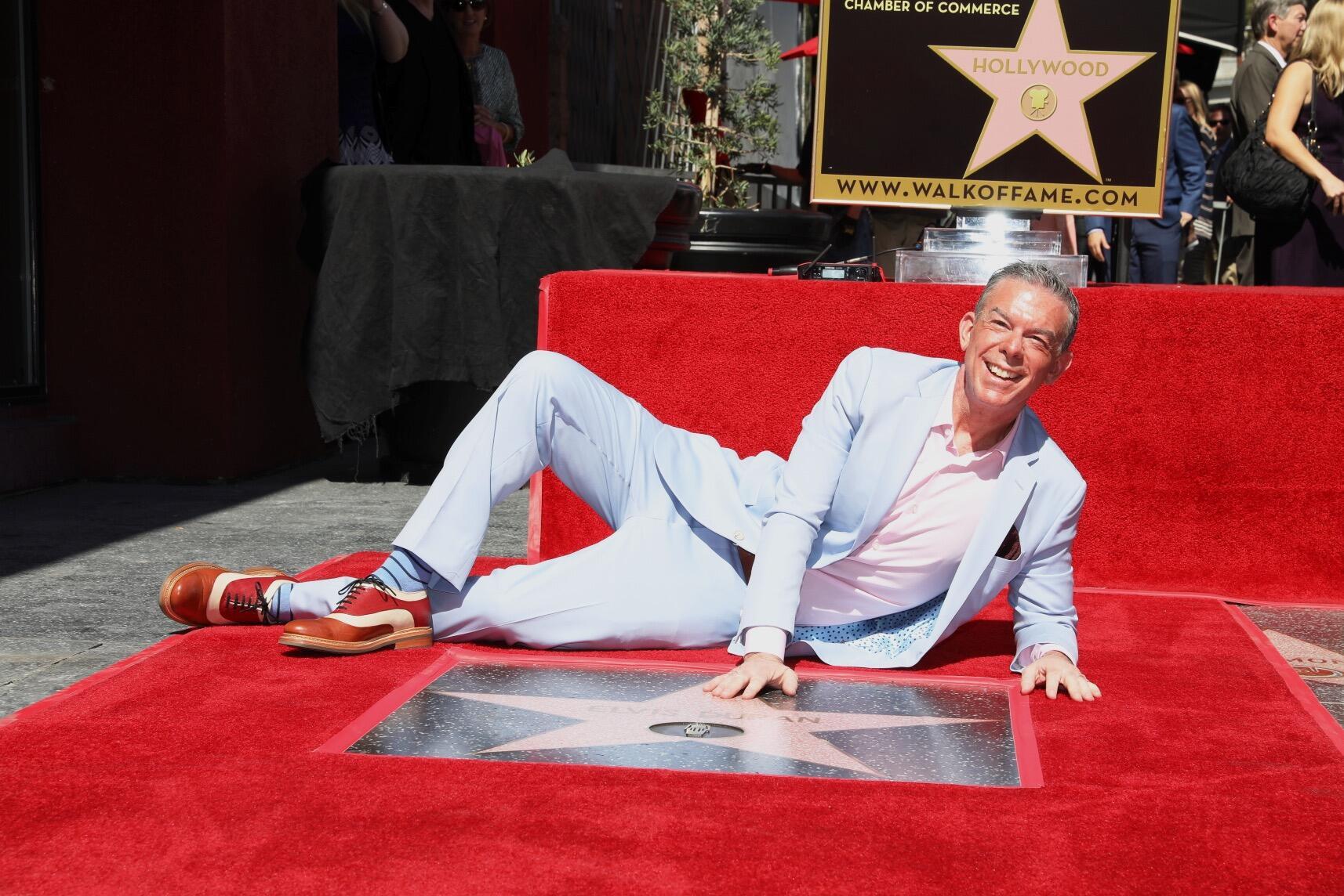 Blue apron elvis duran - Elvis Duran Gets Star On Hollywood Walk Of Fame