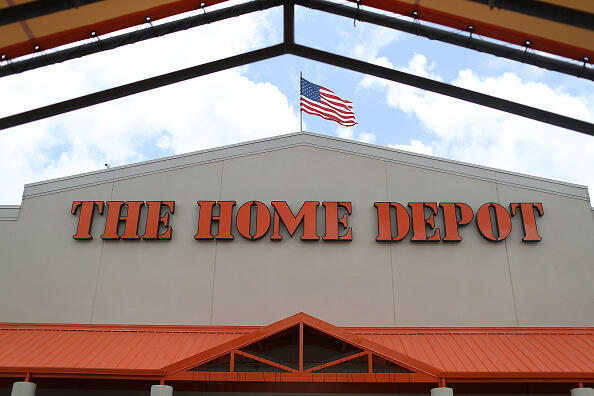 MIAMI, FL - MAY 17:  A Home Depot store is seen on May 17, 2016 in Miami, Florida. Home Depot  raised its yearly outlook after first quarter sales figures showed the home improvement retailer had a net profit of $1.8 billion, or $1.44 share, compared with $1.58 billion, or $1.21 a share, a year ago.  (Photo by Joe Raedle/Getty Images)