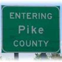 Pike County Highway Sign