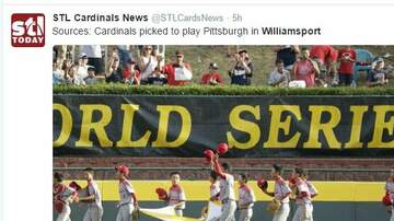 Troy Lee - Sources: Cardinals picked to play Pittsburgh in Williamsport