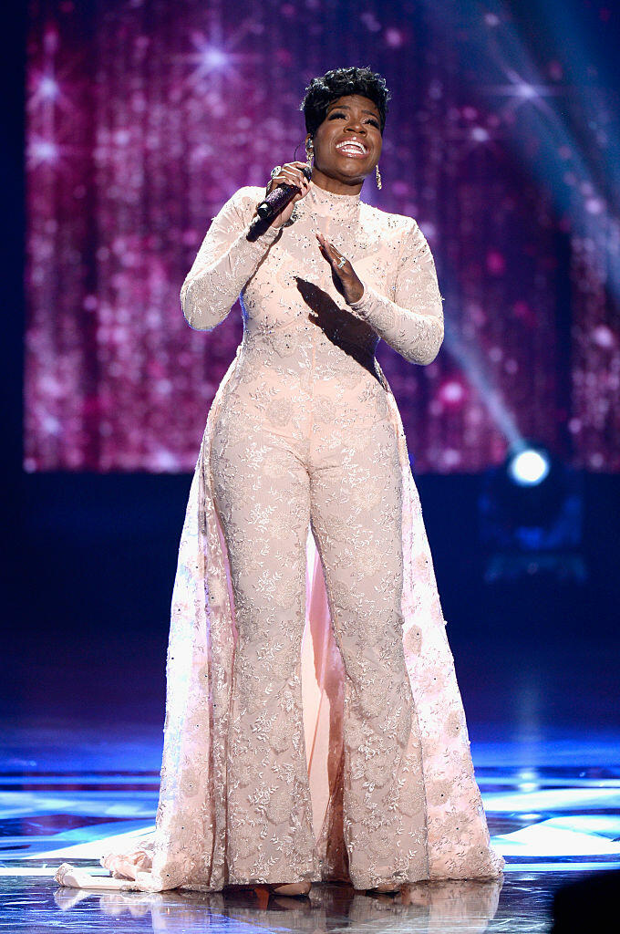 HOLLYWOOD, CALIFORNIA - APRIL 07:  Recording artist Fantasia performs onstage during FOX's