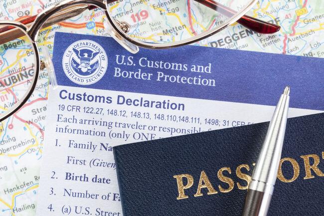 US Customs Declaration