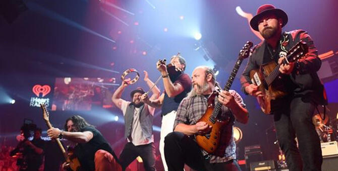 Zac Brown Band will be live at the Alaska Airlines Center in Anchorage, Alaska.