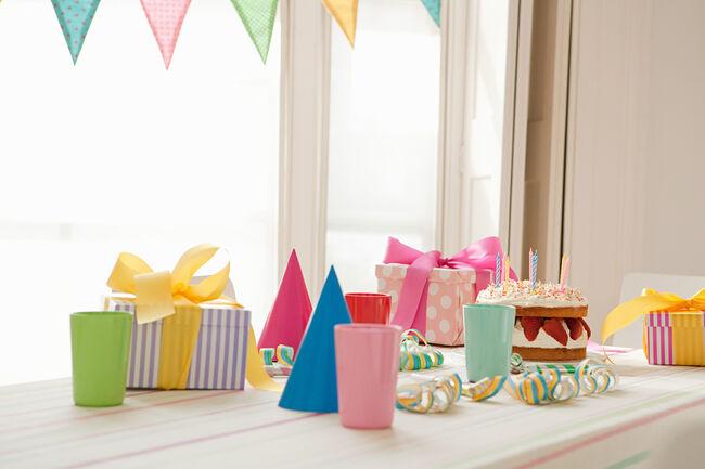 Birthday party preparation