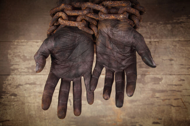 Dark Hands in Heavy Chains