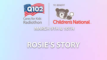 Q102 Cares For Kids Radiothon - Rosie Share's Why She's A Chris & Rosie Miracle Maker