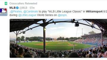 "Troy Lee - ""MLB LITTLE LEAGUE CLASSIC"" TO BE PLAYED IN WILLIAMSPORT"