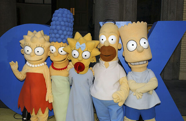 """The Simpsons"" 350th Episode Block Party"