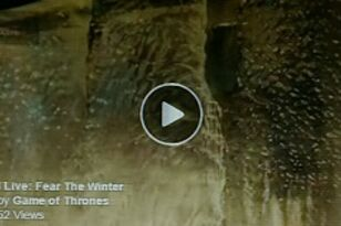 VIDEO: Game Of Thrones Shot Fire At Ice For 14 Minutes To Reveal Premiere Date