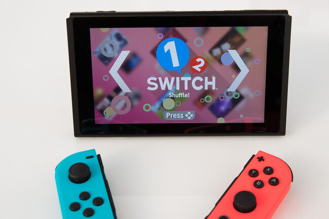 """Nintendo Releases New """"Switch"""" Game Console"""