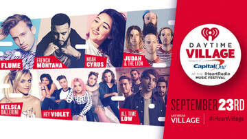 iHeartRadio Daytime Village - Flume, French Montana, Kelsea Ballerini & More To Play Daytime Village Presented by Capital One at the iHeartRadio Music Festival