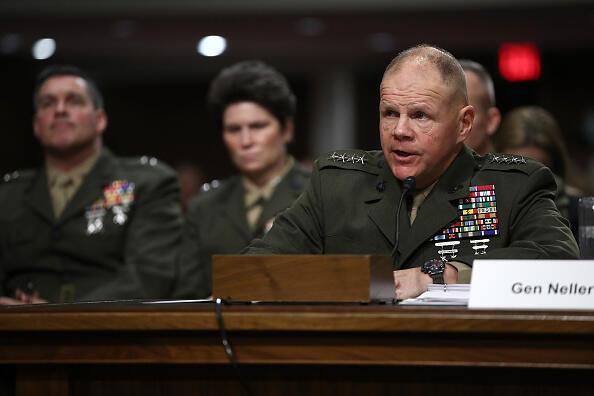 Marine Corps Commandant Gen. Robert Neller Testifies To Senate Committee On Recent Marines United Website Controversy