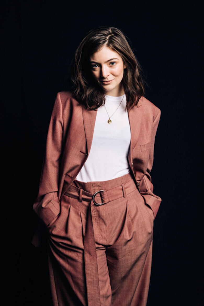 Lorde Interview Photoshoot at iHeartRadio