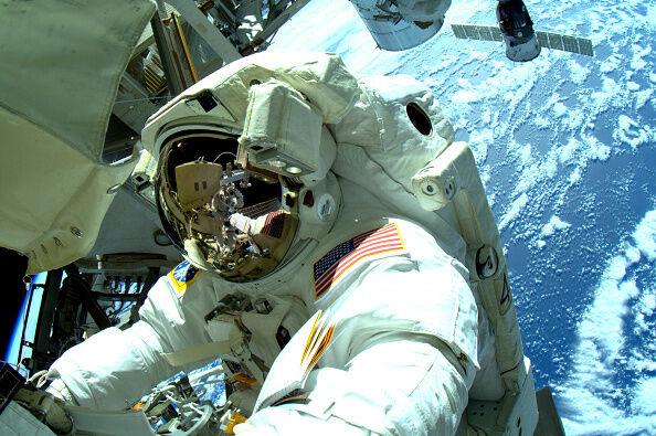 Astronauts Complete Last Of Three Spacewalks