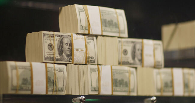 5 Million Dollars In Cash Displayed At Seminole Hard Rock Casino