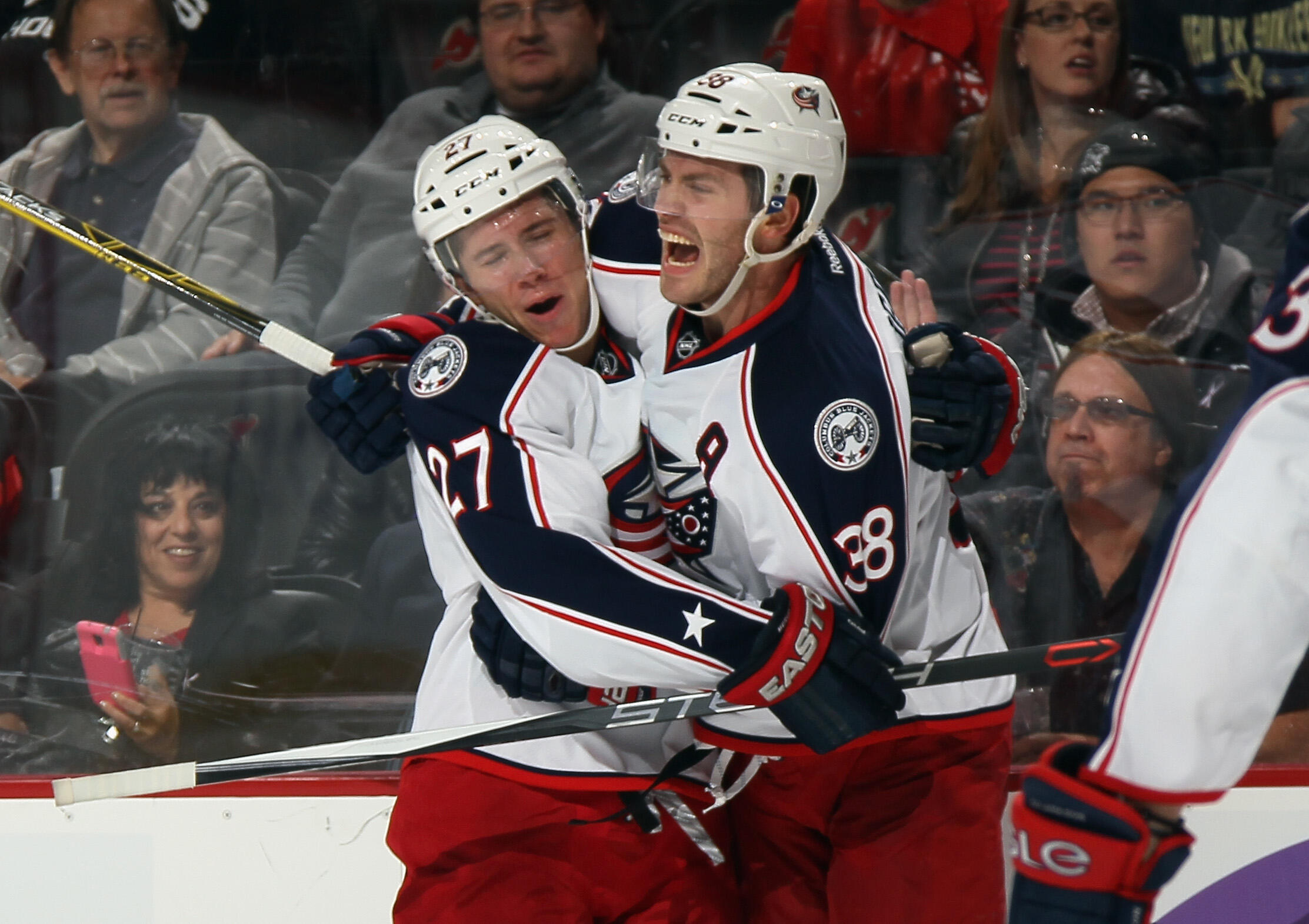 The Blue Jackets did something in New Jersey only two other NHL teams have ever done
