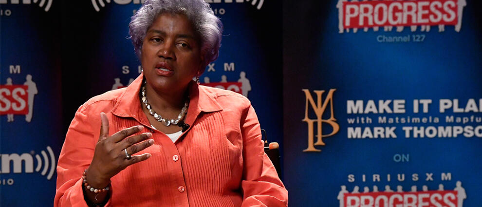 DNC Chair Donna Brazile Speaks With SiriusXM's Mark Thompson For The