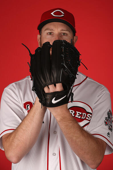 GOODYEAR, AZ - FEBRUARY 18: Pitcher Scott Feldman #37 of the Cincinnati Reds poses for a portait during a MLB photo day at Goodyear Ballpark on February 18, 2017 in Goodyear, Arizona. (Photo by Christian Petersen/Getty Images)