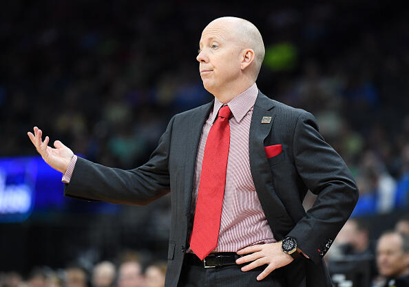 SACRAMENTO, CA - MARCH 17: Head coach Mick Cronin of the Cincinnati Bearcats reacts against the Kansas State Wildcats during the first round of the 2017 NCAA Men's Basketball Tournament at Golden 1 Center on March 17, 2017 in Sacramento, California. (Photo by Thearon W. Henderson/Getty Images)