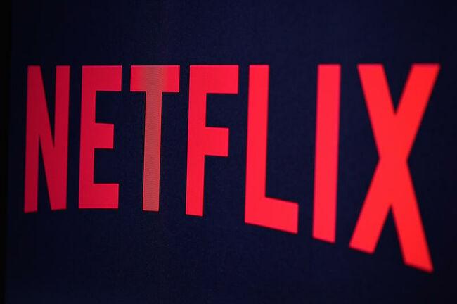 US Online Streaming Giant Netflix : Illustration