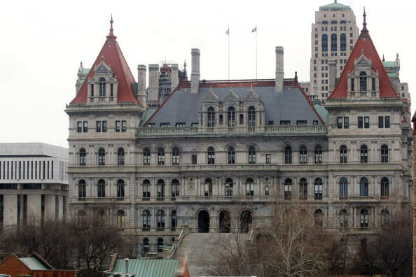 Albany Prepares For Swearing-In Of David Paterson