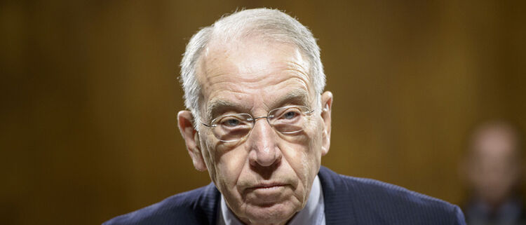 U.S. Senator Charles Grassley of Iowa
