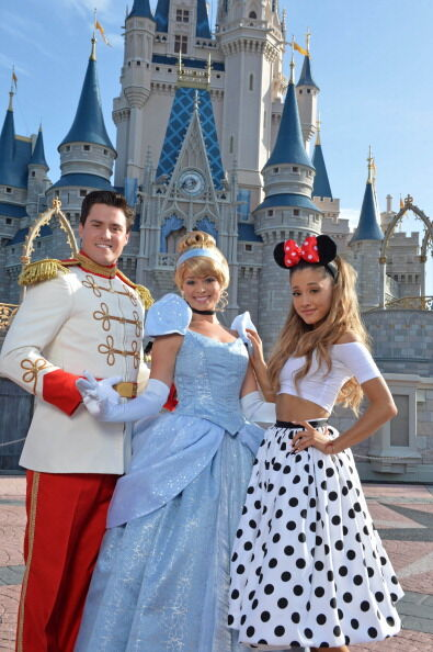 Singer Ariana Grande Celebrates 21st Birthday At Walt Disney World