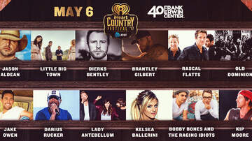 iHeartRadio Country Festival - Jason Aldean, Little Big Town & More To Play 2017 iHeartCountry Festival, A Music Experience By AT&T