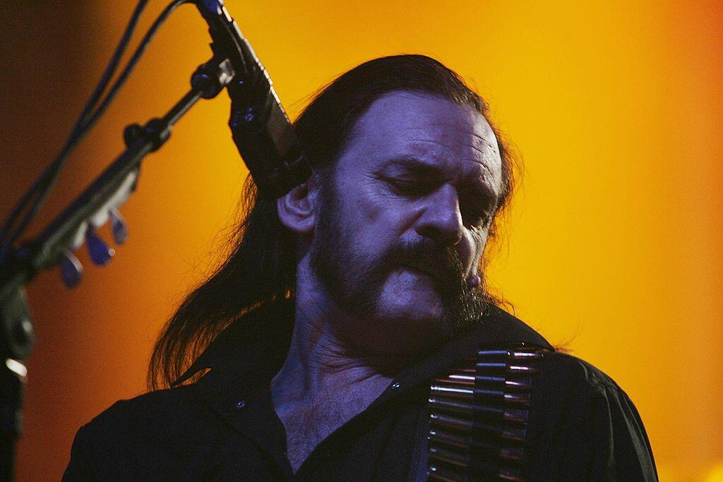 SYDNEY, AUSTRALIA - OCTOBER 5:  Lemmy of the UK rock band Motorhead performs on stage in concert at the Enmore Theatre October 5, 2007 in Sydney, Australia. The band last played in Australia in 2005 alongside Motley Crue.  (Photo by Gaye Gerard/Getty Imag