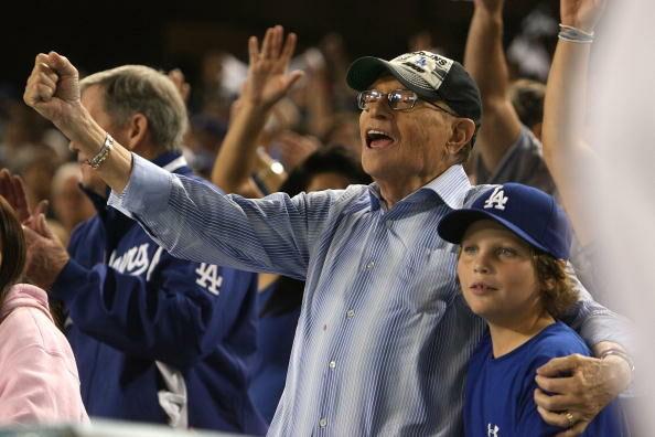 Philadelphia Phillies v Los Angeles Dodgers, Game 1
