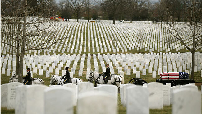 Seven Vietnam War Service Members Buried At Arlington National Cemetery