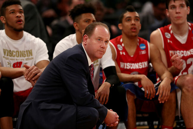 NCAA Basketball Tournament - East Regional - Wisconsin v Florida
