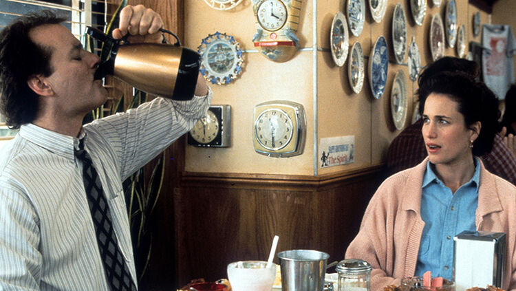 Bill Murray And Andie MacDowell In 'Groundhog Day'