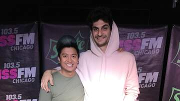 Photos: Sprite Lounge - James Hersey stopped by the Sprite Lounge today with Rufio!