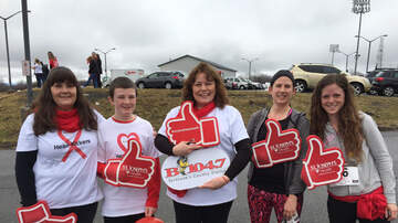 Photos - Becky At The American Heart Walk At OCC
