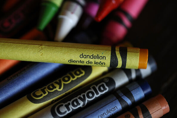 Crayola Crayons Announces Its Eliminating Dandelion Yellow For A New Blue Crayon