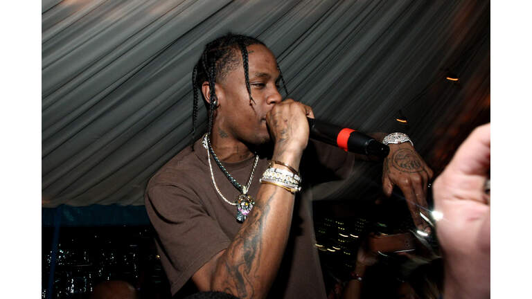 Travis Scott / Cactus Jack party at the private residence of Jonas Tahlin, CEO Absolut Elyx