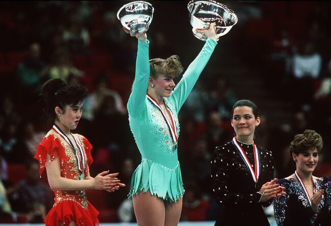Tonya Harding was arrested for domestic violence in 2000