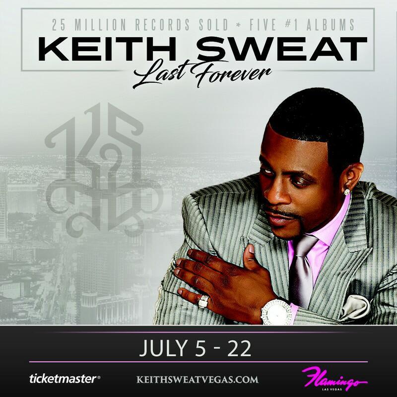 Keith Sweat Vegas Residency