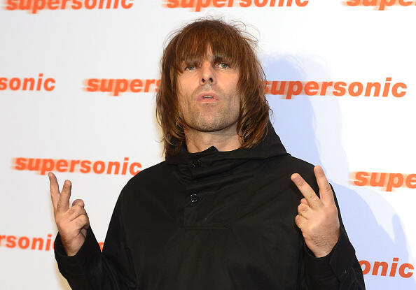 LONDON, ENGLAND - OCTOBER 02:  Liam Gallagher attends a special screening of