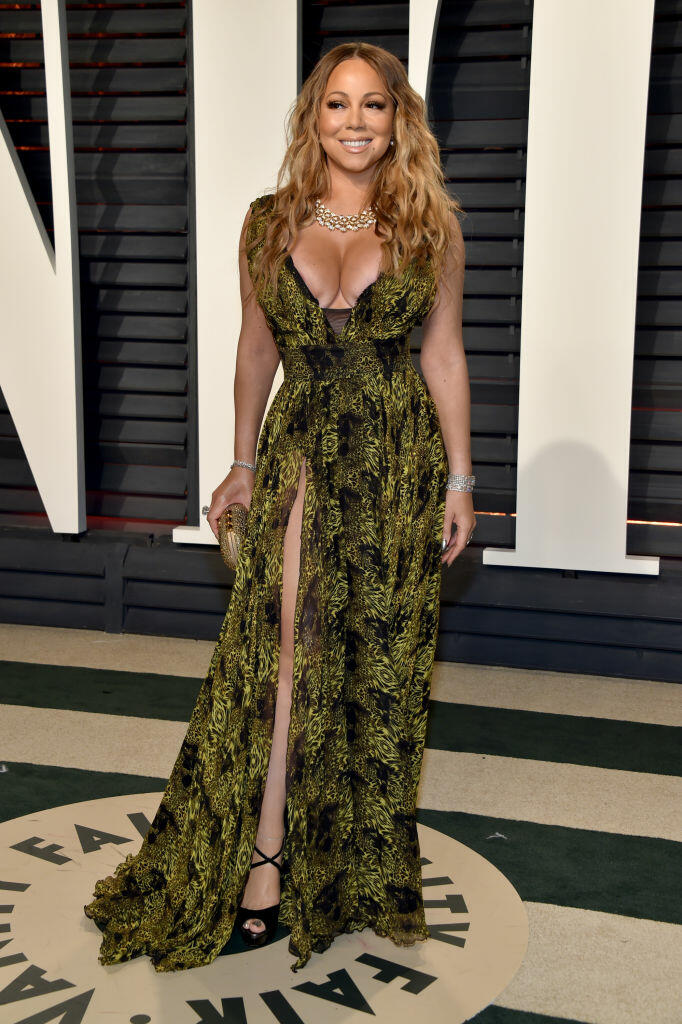 BEVERLY HILLS, CA - FEBRUARY 26:  Recording artist Mariah Carey attends the 2017 Vanity Fair Oscar Party hosted by Graydon Carter at Wallis Annenberg Center for the Performing Arts on February 26, 2017 in Beverly Hills, California.  (Photo by Pascal Le Segretain/Getty Images)
