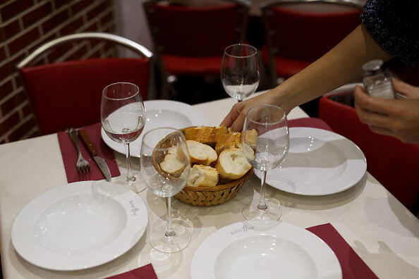 Restaurant Serves Free Dinner For Homeless People In Madrid