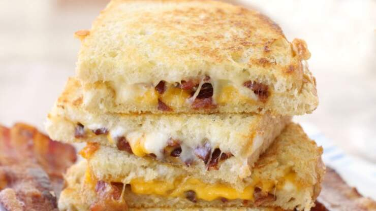 Celebrating National Grilled Cheese Sandwich Day with Disney's GC Recipe!