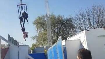 Tammy Daye - VIRAL: Woman Falls Off A Ride At A Carnival And Is Dangling From Her Feet!!