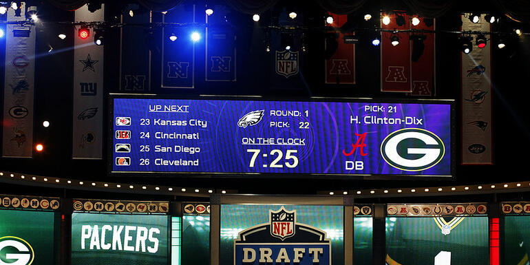 Packers pick up four NFL Draft compensatory picks
