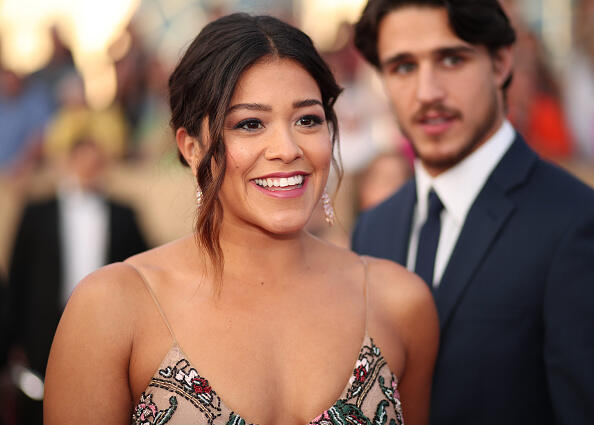 LOS ANGELES, CA - JANUARY 29:  Actor Gina Rodriguez attends The 23rd Annual Screen Actors Guild Awards at The Shrine Auditorium on January 29, 2017 in Los Angeles, California. 26592_012  (Photo by Christopher Polk/Getty Images for TNT)