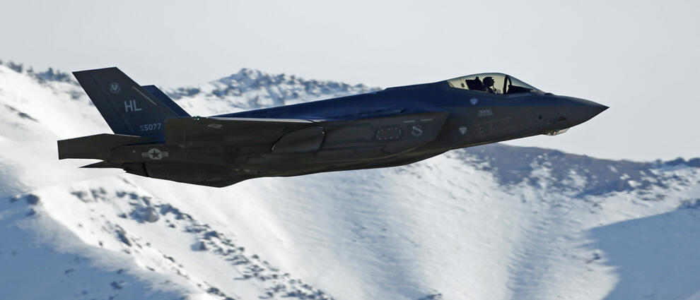 Air Force's Airmen Partake In Training Flights With The New F-35 At Hill Air Force Base