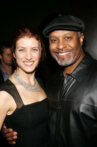 In Style's Cast Party For Grey's Anatomy.