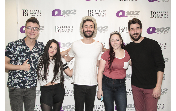 Ajr meet greet photos at q102 4182017 q102 ajr meet and greet photos 4182017 m4hsunfo